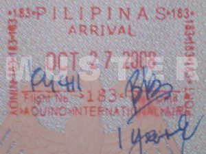 Good for one year: The Balik Bayan Stamp in your passport