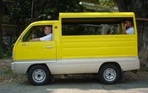 Multicab car in the Philippines