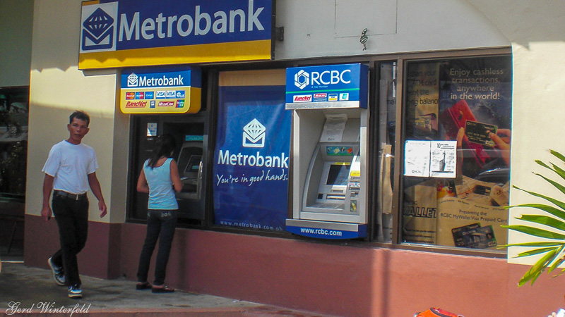 ATm machines in the Philippines