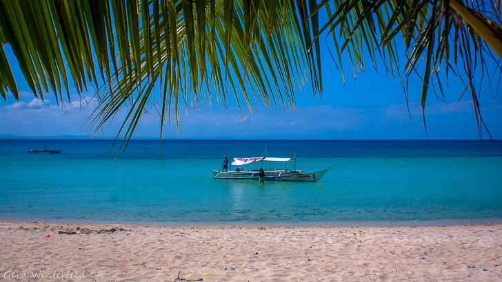 Beach Scene in the Philippines